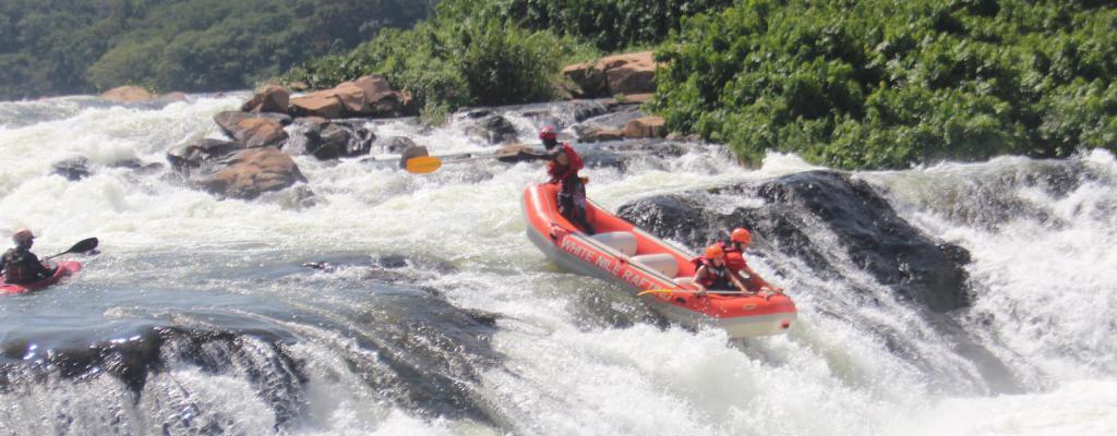 Water Rafting at Itanda Falls - Butagaya Subcounty